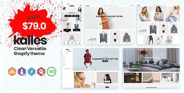 Kalles - Clean, Versatile, Responsive Shopify Theme - RTL support - Fashion Shopify