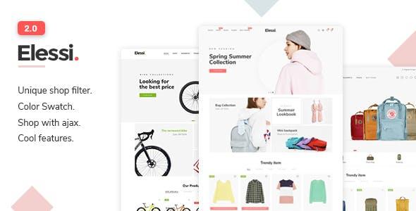 Elessi 2.0 - Responsive Shopify Theme