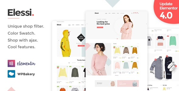 Elessi - WooCommerce AJAX WordPress Theme - RTL support - WooCommerce eCommerce