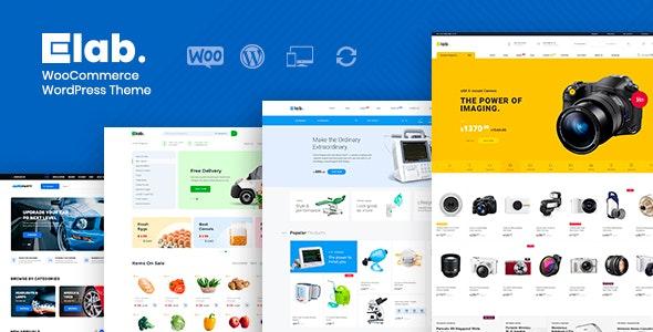 eLab - WooCommerce Marketplace WordPress Theme - WooCommerce eCommerce