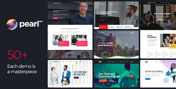Pearl - Corporate Business WordPress Theme - Business Corporate