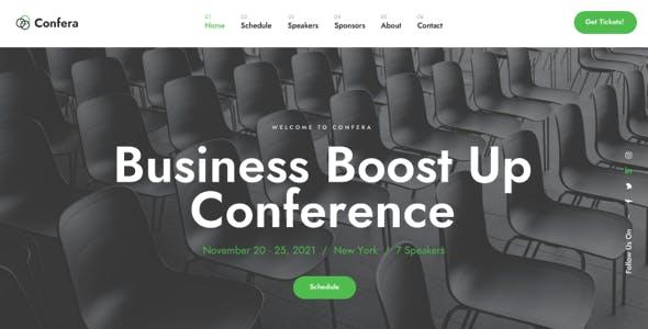 Confera - Conference & Event