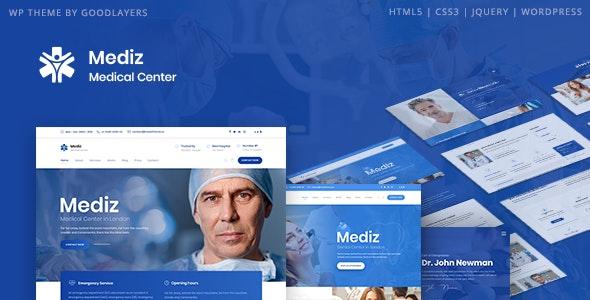 Mediz - Medical WordPress - Health & Beauty Retail