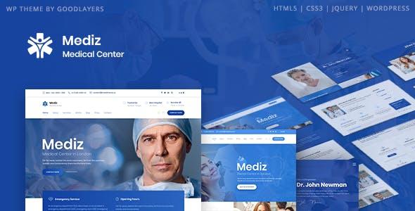 Mediz - Medical WordPress