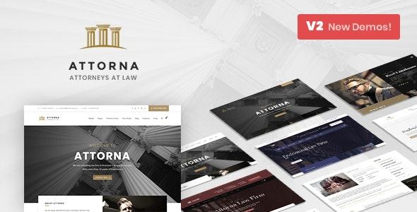 Attorna - Law, Lawyer & Attorney - Retail WordPress