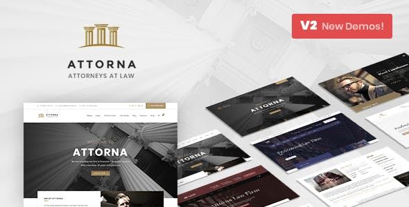Attorna - Law, Lawyer & Attorney