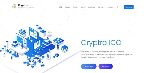 Cryptro - Cryptocurrency, Blockchain , Bitcoin & Financial Technology