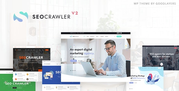 SEOCrawler - SEO & Marketing Agency WordPress - Marketing Corporate