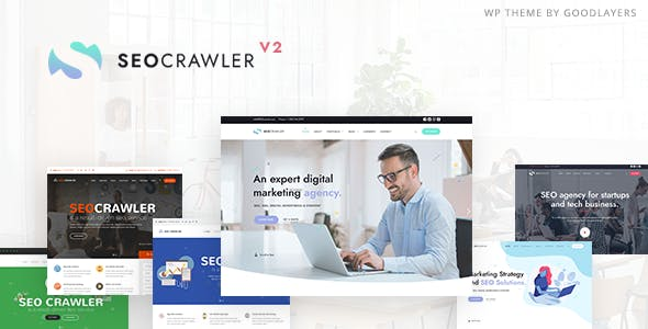 SEOCrawler - SEO & Marketing Agency WordPress