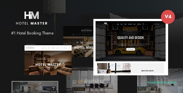Hotel Master v4.1.2 – Hotel Booking WordPress Theme