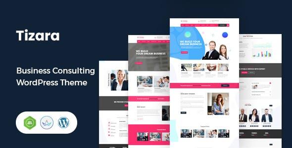 Tizara - Business Consulting WordPress Theme