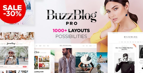 Buzz - Lifestyle Blog & Magazine WordPress Theme - Personal Blog / Magazine