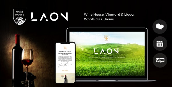 Laon | Wine House, Vineyard & Liquor WordPress Theme + Shop - Food Retail