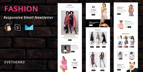 Fashion - Responsive Email Newsletter