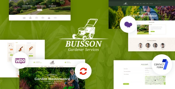 Buisson | Gardening & Landscaping Services WordPress Theme - Retail WordPress