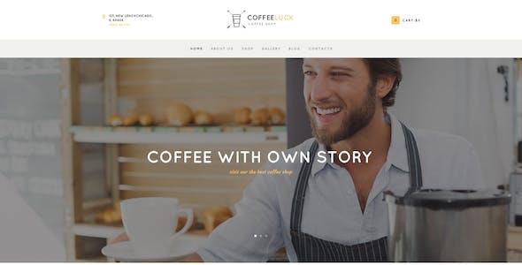 Coffee Luck | Cafe, Restaurant & Shop WordPress Theme