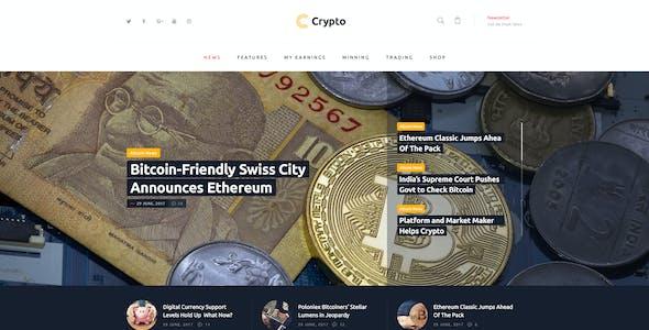 Crypton | A Multi-Purpose Cryptocurrency & ICO WordPress Theme