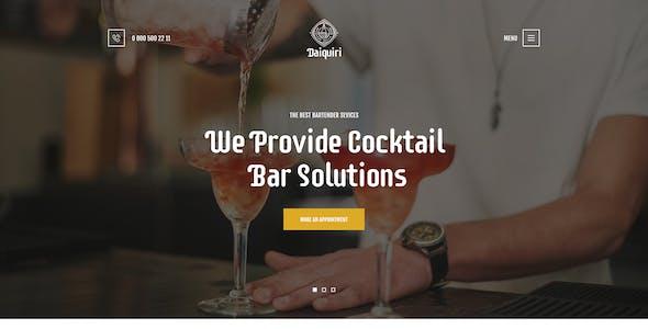 Bartender Wordpress Themes From Themeforest