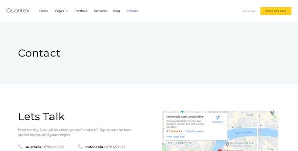 Quantex – Software Startup & SaaS Elementor Template Kit
