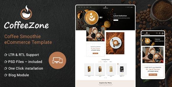 CoffeeZone - Cafe & Coffee OpenCart Shop - Health & Beauty OpenCart