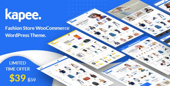 Kapee - Modern Multipurpose WooCommerce Theme