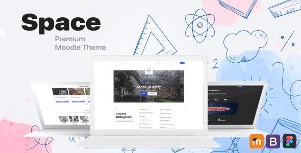 Space, Responsive Premium Moodle Theme - Moodle CMS Themes