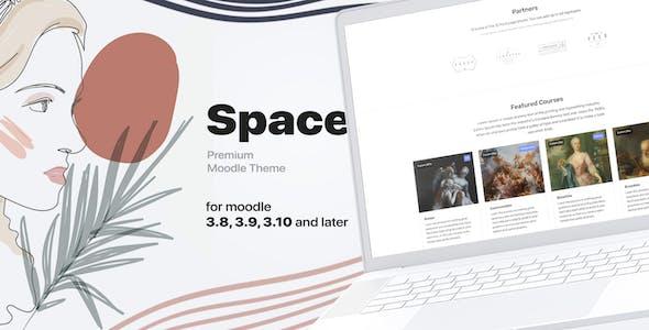 Space, Responsive Premium Moodle Theme