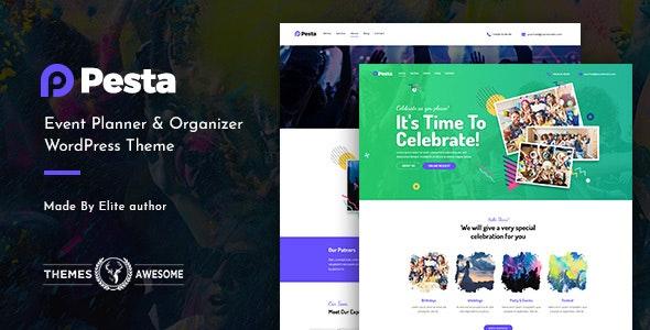 Pesta | Event Planner & Organizer WordPress Theme - Events Entertainment