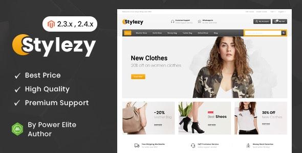 Stylezy - Responsive Magento 2 Theme - Shopping Magento