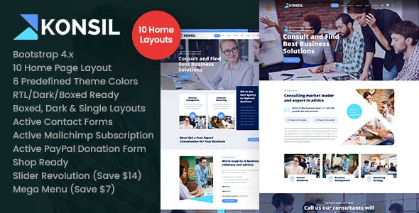Konsil - Business Consulting HTML