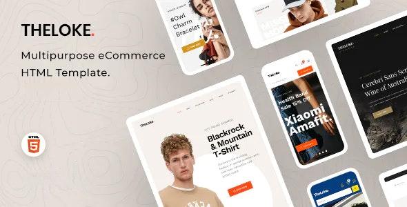 TheLoke Multipurpose eCommerce HTML Template