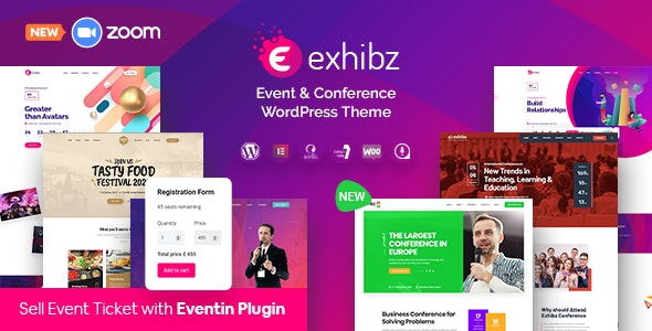 Exhibz | Event Conference WordPress Theme - Events Entertainment