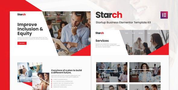 Starch - Business Elementor Template Kit