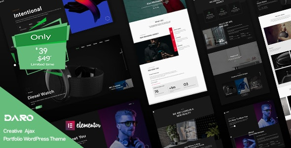 6 Best 2020's Newest Premium WordPress themes from ThemeForest for December 2020