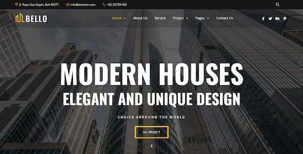 Bello - Real Estate Elementor Template Kit