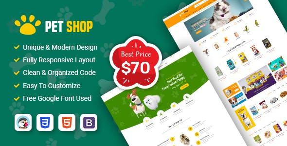 PetShop - Beautiful Responsive Prestashop 1.7 Theme