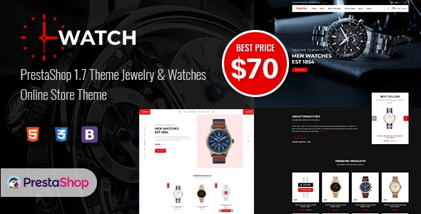 Watch - Multipurpose PrestaShop Theme - Shopping PrestaShop