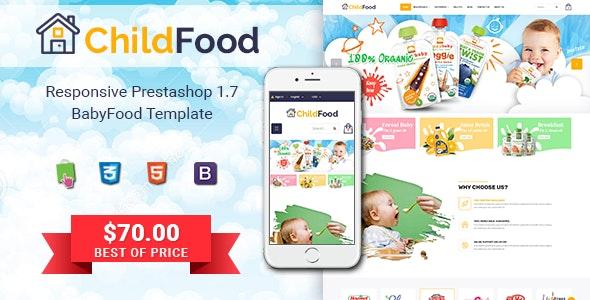 ChildFood - Adorable Baby Shop PrestaShop Theme - Shopping PrestaShop