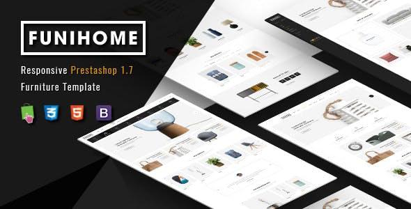 FuniHome - Responsive PrestaShop 1.7 Furniture Shop Theme