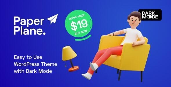 Paper Plane - Easy to Use WordPress Blog Theme - Personal Blog / Magazine