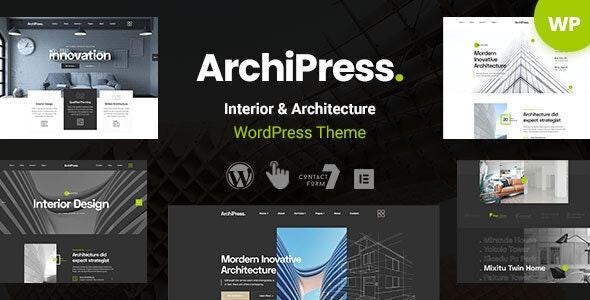 ArchiPress - Architecture & Interior Design WordPress - Business Corporate