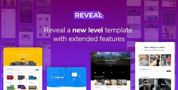 Reveal - Multi-Purpose eCommerce HTML Template - Creative Site Templates