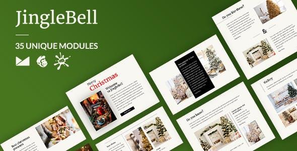 JingleBells Email-Template + Online Builder
