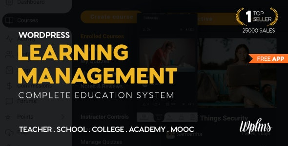 WPLMS Learning Management System for WordPress, Education Theme - Education WordPress