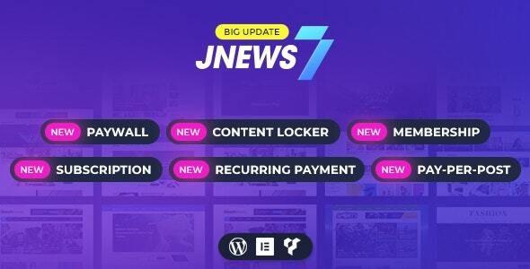 JNews - WordPress Newspaper Magazine Blog AMP Theme - News / Editorial Blog / Magazine