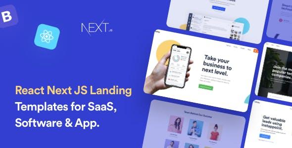Finity - React Next JS Landing Page Template
