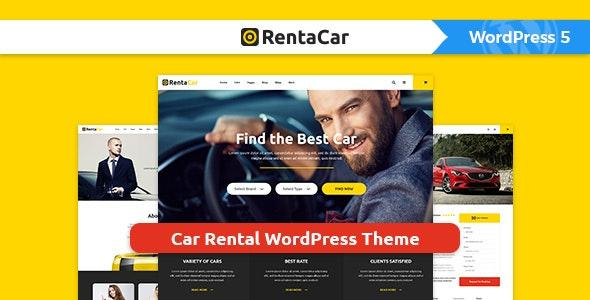 Rentacar - Car Rental / Listing WordPress Theme - Business Corporate