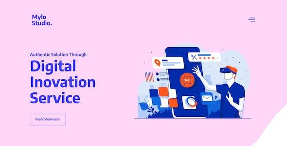 Mylo - Creative Agency & Portfolio Template Kit
