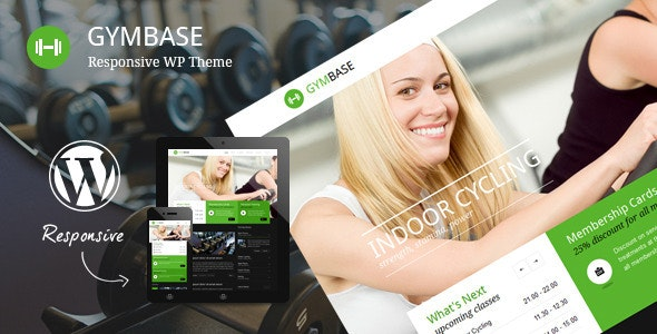 GymBase - Responsive Gym Fitness WordPress Theme - Health & Beauty Retail