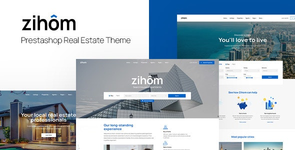 Leo Zihom Prestashop Real Estate Theme - PrestaShop eCommerce